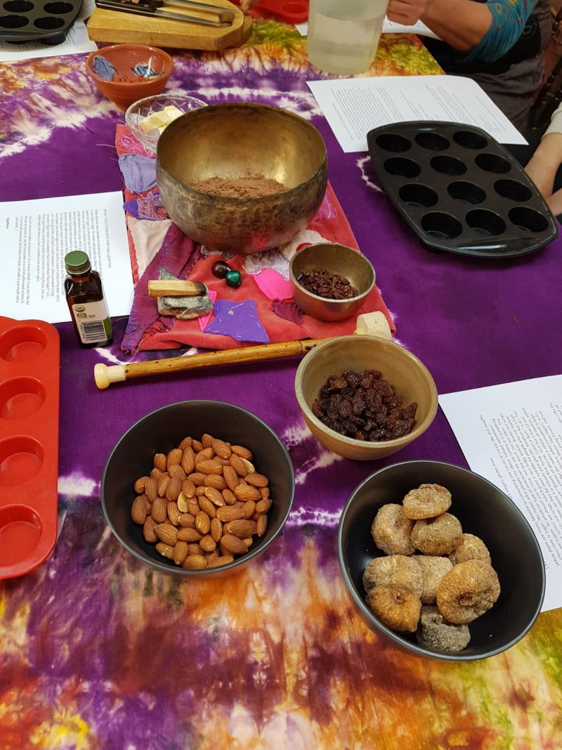 Lisa Fabry Nutrition & Yoga Therapy raw chocolate workshop