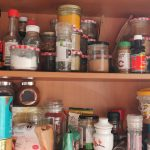 Lisa Fabry Nutrition & Yoga Therapy kitchen cupboard
