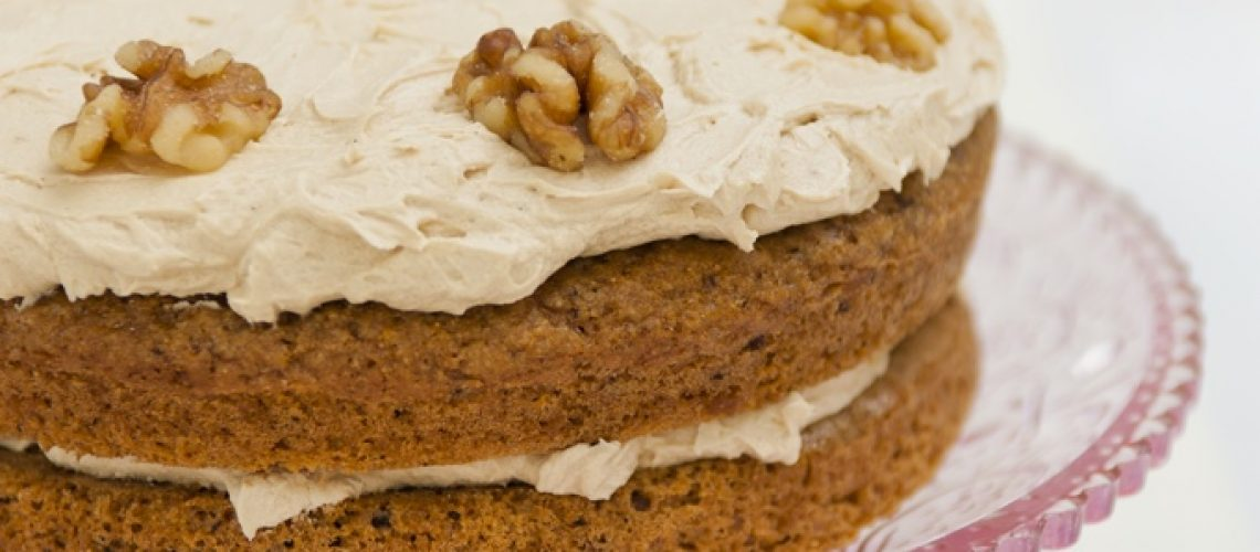 Lisa Fabry Nutrition & Yoga Therapy coffee and walnut cake
